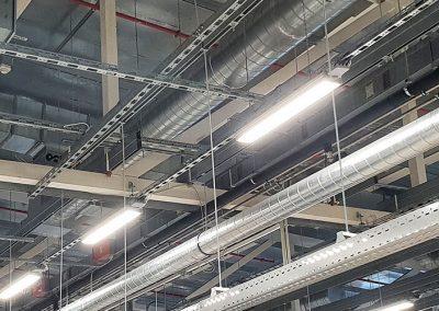 Osvětlení výrobní haly