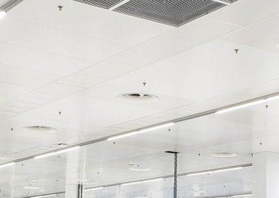 Osvětlení výrobní a administrativní haly