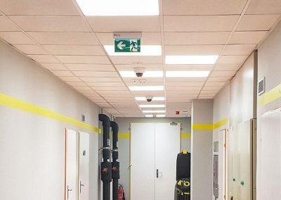 Osvětlení administrativních prostor