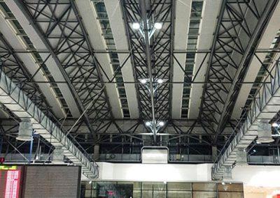 LETIŠTĚ VÁCLAVA HAVLA - Osvětlení odletové haly terminálu 2
