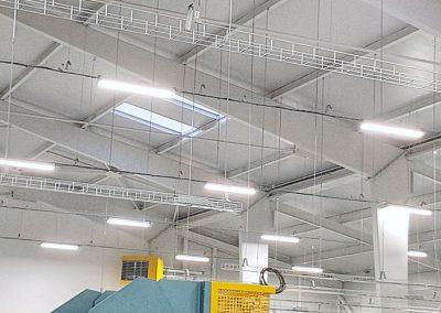 Osvětlení výrobní haly H4