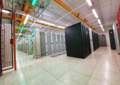 Osvětlení datového sálu
