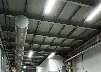 Osvětlení výrobních hal